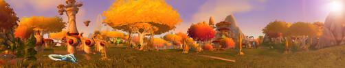 Sunstrider Isle by Wishmasterok