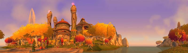 Silvermoon Ruins Gate by Wishmasterok