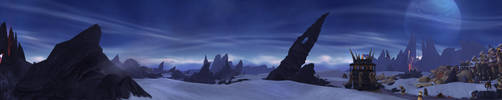 Draenor - Frostfire Rige by Wishmasterok