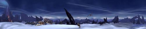 Draenor - Frostfire Rige 2 by Wishmasterok