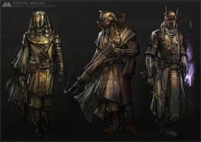 Egyptian Warlock by METAPHOR9
