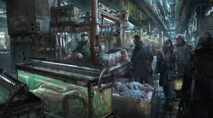 Inside the Market by METAPHOR9