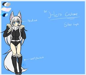 Lareina 1st Hero Costume [Ref] by JusticeWereWolf