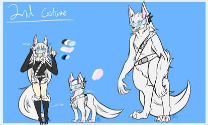 Lareina 2nd Hero Costume [Ref] by JusticeWereWolf
