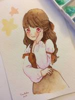 Town girl by snownatsu