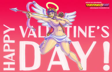 Happy Valentine's Day by sakusakupanic