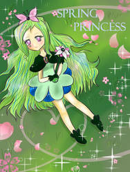Spring Princess #1 ~ a Gift for Maybear by xLuluCotton