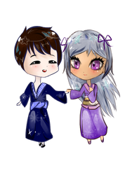 Request #2 ~ Krystal and Goonstar by xLuluCotton