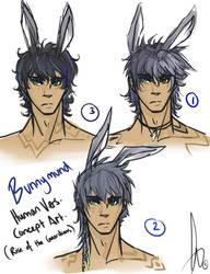 -Bunnymund Human Concept Designs- by KT-ExReplica