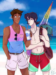 Late Summer (Klance) by KT-ExReplica