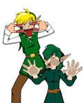 Immature Zelda art by Timestones