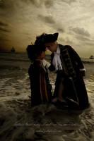 Hetalia:UK Spain Pirate3 by azuooooo