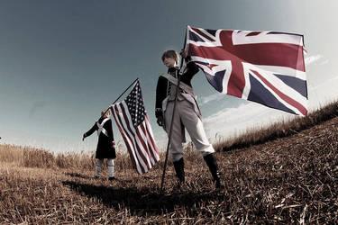 Hetalia Independence American Revolution 8 by azuooooo