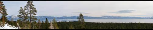 Tahoe Panorama by Blufire