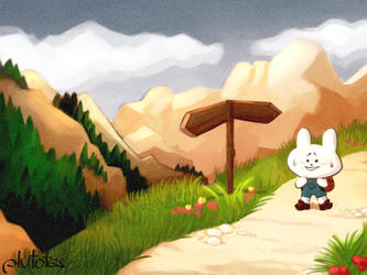bun up the mountains by plutotes