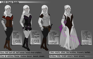 Reference Sheet- Lilith by Lilith-the-5th