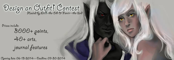 Draw an Outift! Contest is open! by Lilith-the-5th