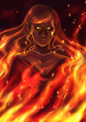 Burning Heart by Lilith-the-5th