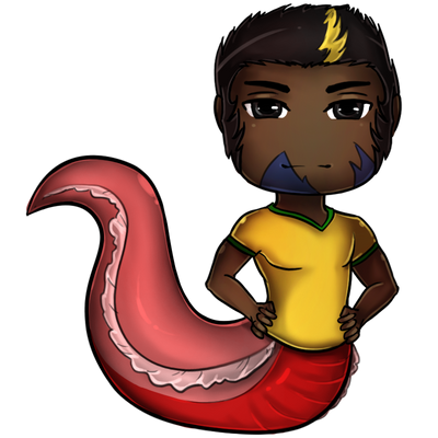 Commission- chibi Drake by Lilith-the-5th