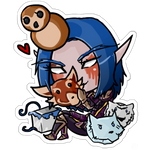 Commission chibi doll- BeowulfDoomhammer by Lilith-the-5th