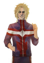 Fanart- Toshinori Yagi by Lilith-the-5th