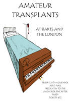 Poster design for Amateur Transplants event at BL by mikesamy