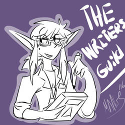 The Writer's Guild by MangsFox