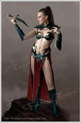 Dark Elf Witch by Fantasy-Craft