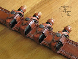flask holsters by Fantasy-Craft