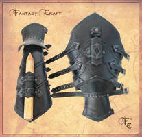 Witch Hunter Bracers by Fantasy-Craft