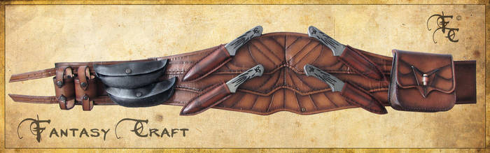 Assassin's creed belt by Fantasy-Craft