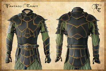Fantasy leather armor by Fantasy-Craft
