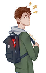 Peter Parker by ArtofBarbs