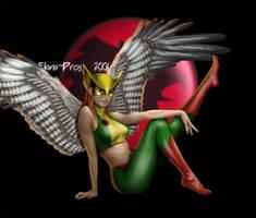 Hawkwoman by Eliana-Prog