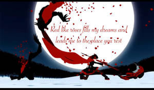 RWBY 'Red like roses' by LastChaosLord