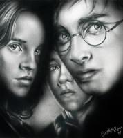 Harry Potter Pencil Request by ElvesAteMyRamen