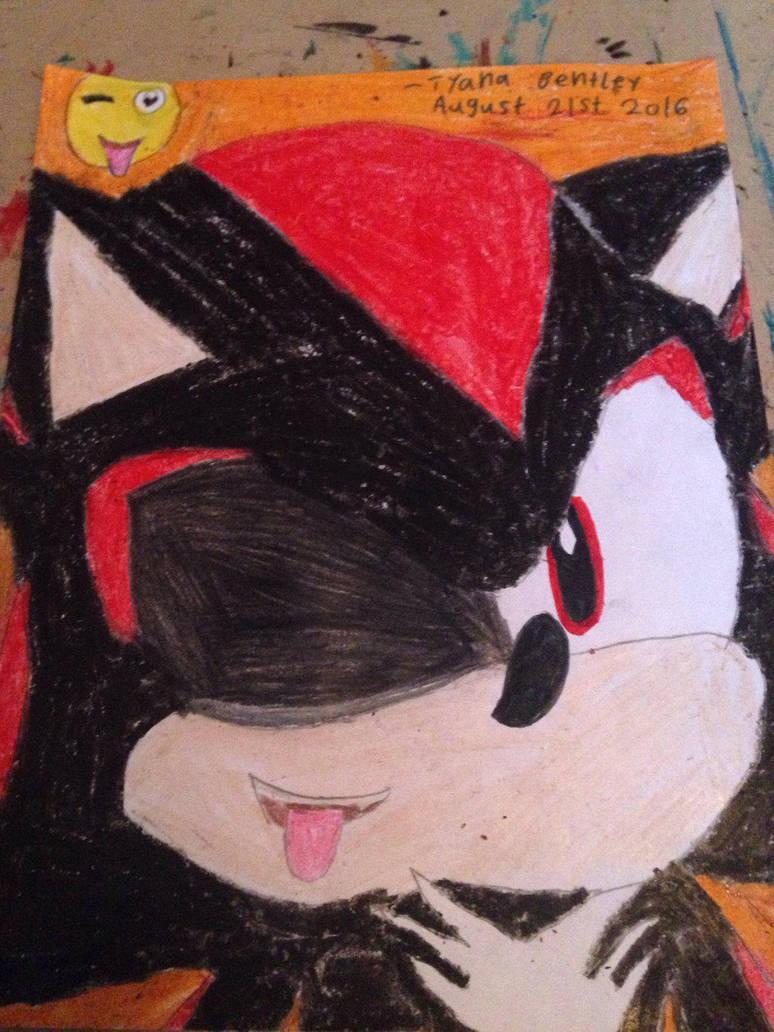 Emoji And Shadow Shadow The Hedgehog Fan Art By Shadow45790 On