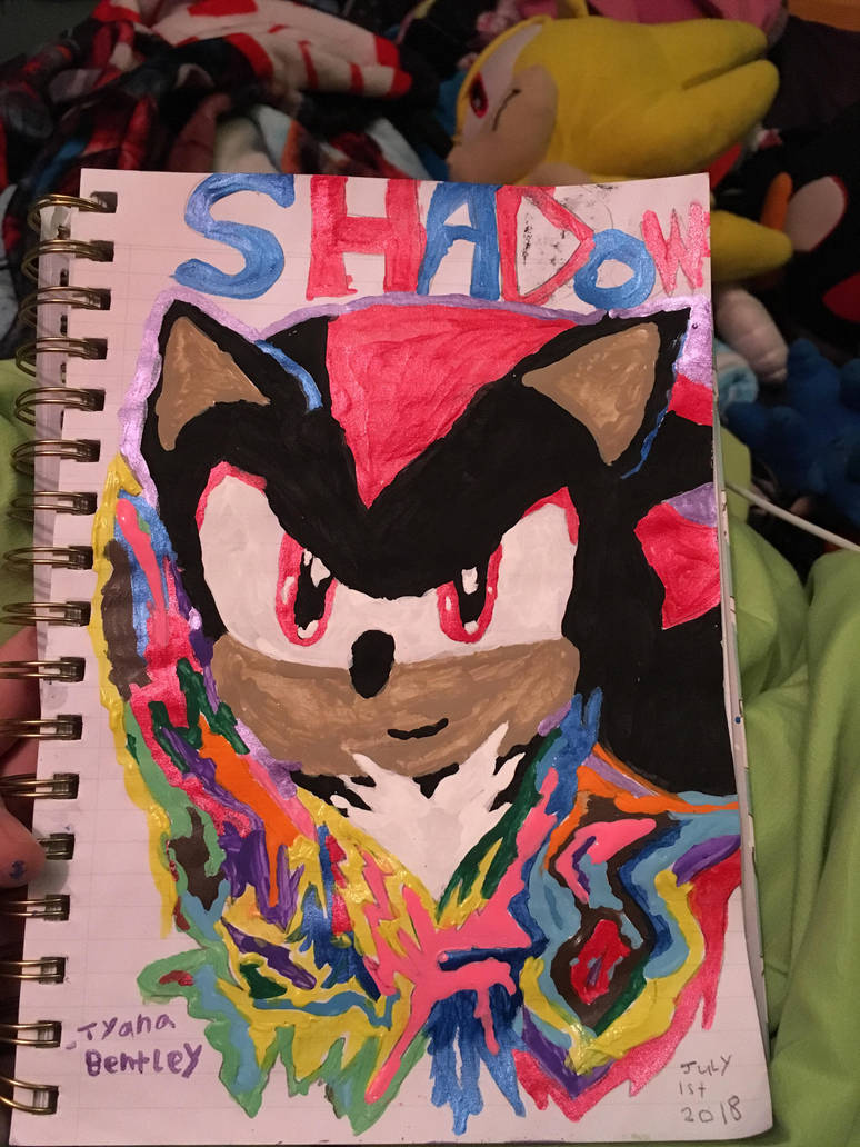 Shadow The Hedgehog Fan Art By Shadow45790 On Deviantart