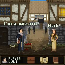 RPG Mockup Screenshot by AnttiKoponen
