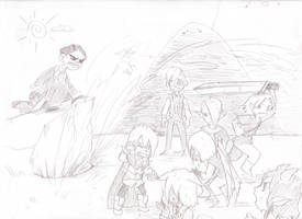 PA Elemental Exam Doodle by Cabbage-Factory