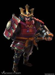 Taro the samurai (Anchors in the Drift) by FunkyBunnies