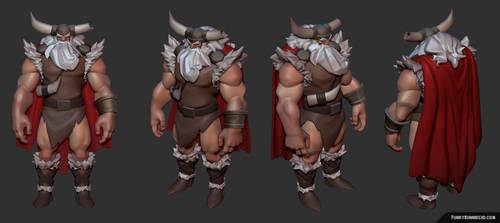 Viking style test (Anchors in the Drift) by FunkyBunnies