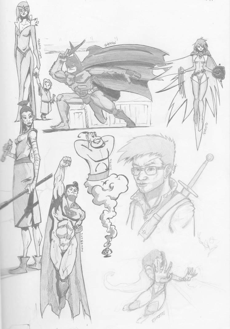 Sketch January 2018 by henryxpl