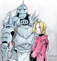 Elric Brothers by delboysb91
