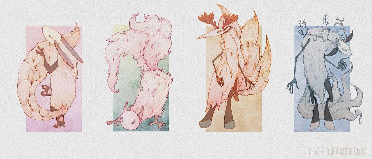 Seasons by viowl