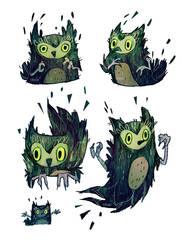 smol owlos by viowl