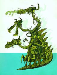 dragon by viowl
