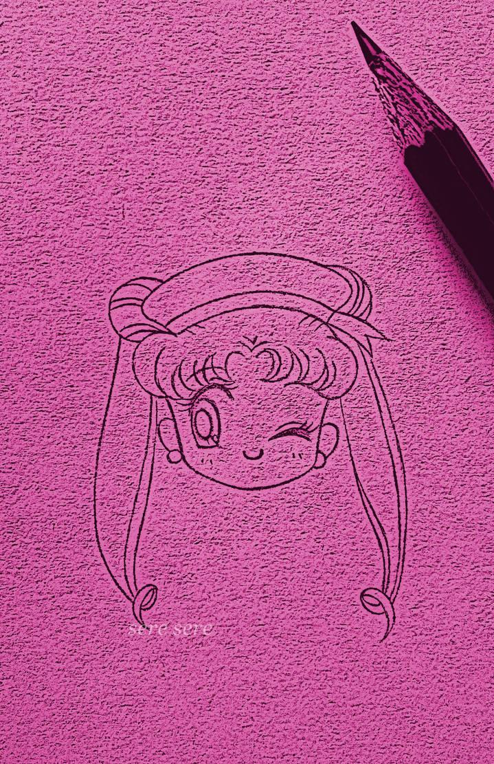 Usagi sailor! - sketch by seresere
