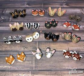Earrings by gylkille