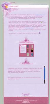 .:Pink Daisy by ginkgografix